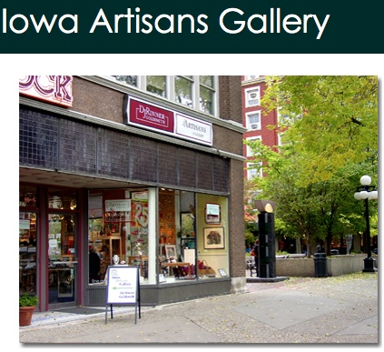 Contemporary handmade American Craft is our focus, and Midwestern artists are our specialty. We're delighted to bring you the works of more than 200 artists, some of whom are sampled in these pages. Iowa Artisans Gallery was founded in 1984 by twelve craft artists. Five founders still serve as owners, and many staff persons are also artists. The Gallery is a full service retail business, offering phone orders, web orders, layaway, approvals, specialty wraps and special orders. We offer special exhibitions and participate in community art-based events.